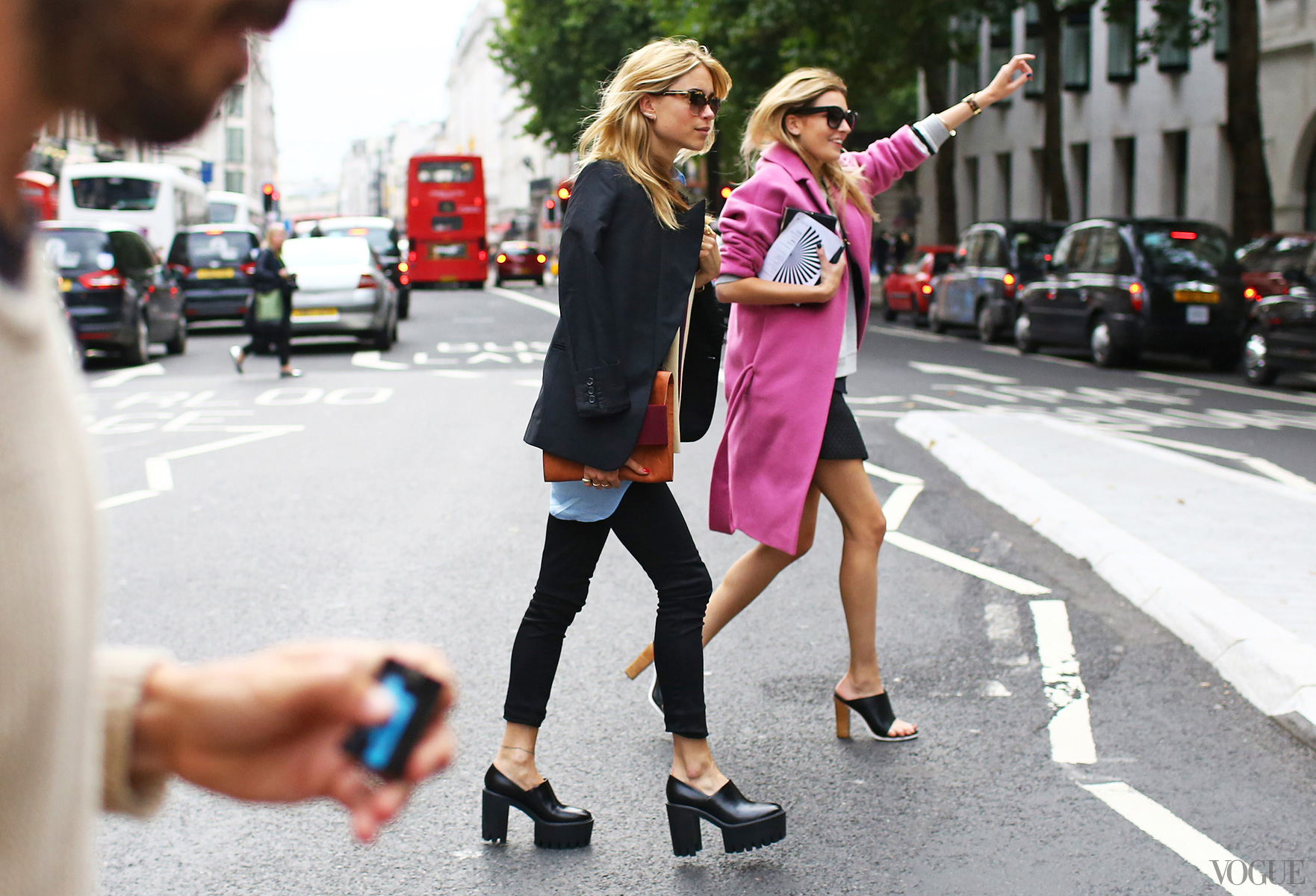 Le Street Style London Fashion Week Bravogue