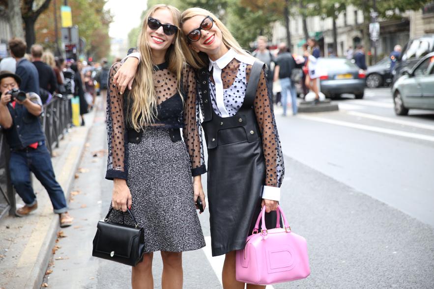 Le Street Style Paris Fashion Week Bravogue