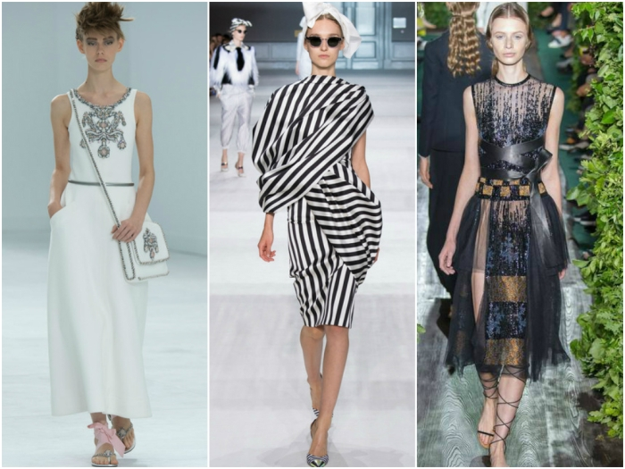 Couture Fall 2014: Chanel, Giambattista Valli, Valentino.